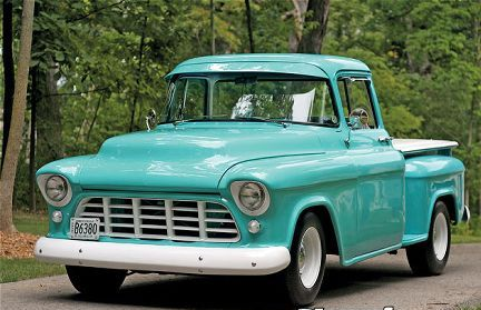 1956 Chevy Truck Engine Color http://www.johnlaconteautosales.com/testimonials.html